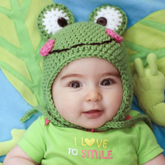 Free Crochet Pattern For Kermit The Frog Hat : Kermit The Frog Crochet Hat images
