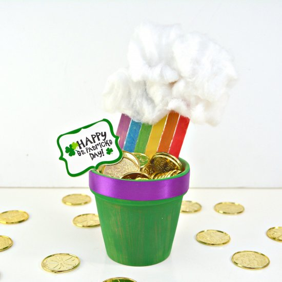 End of the Rainbow Planter
