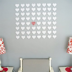 Heart Wall Art heart wall art | craftgawker