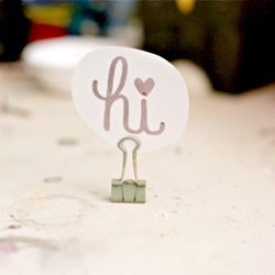 Make Your Own Place Card Holders Mycoffeepot Org