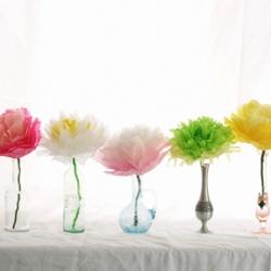 Tissue paper flowers craftgawker tissue paper flowers 32113 rustandsunshine how to make mightylinksfo