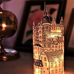 DIY Paper City Lantern