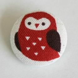 diy fabric button brooch | craftgawker