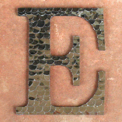 Hammered Metal Letters Metal Letters Gallery  Craftgawker