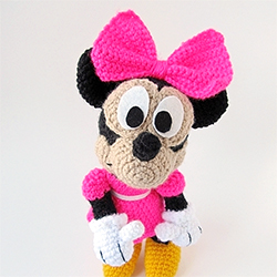 Minnie Mouse Free Crochet Pattern | Free Crochet Patterns | 250x250
