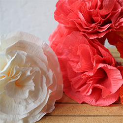 How to make handmade flowers from paper best diy large backdrop cheap diy crepe paper flowers with how to make handmade flowers from paper mightylinksfo
