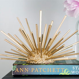 Gold Decorative Sea Urchin