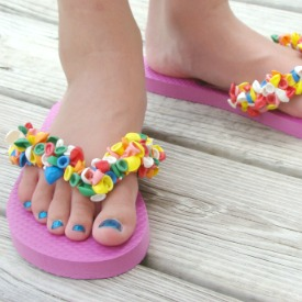ea9fdf634 Water Balloon Flip Flops  51281 aboutamom Make these fun summer sandals  from an inexpensive ...