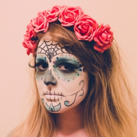 Day Of The Dead Halloween Makeup | Day Of The Dead Halloween Makeup Craftgawker