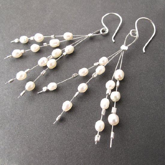 Diy Beaded Pearl Earrings Tutorial Jewelry