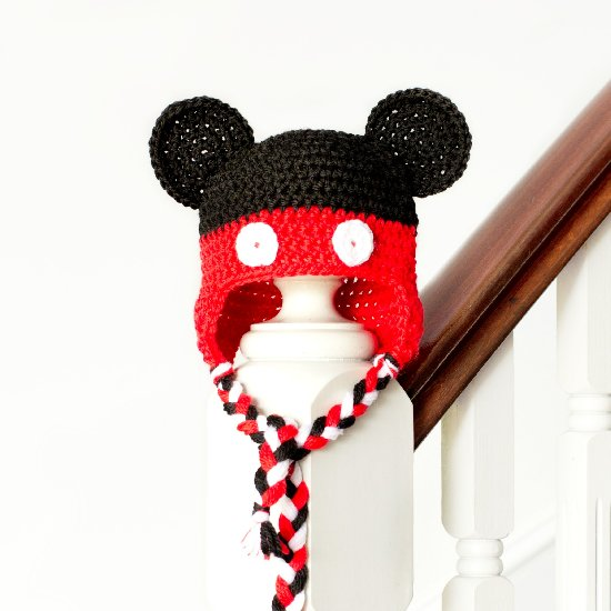 ... Mickey Mouse Baby Hat Pattern 3607997a650