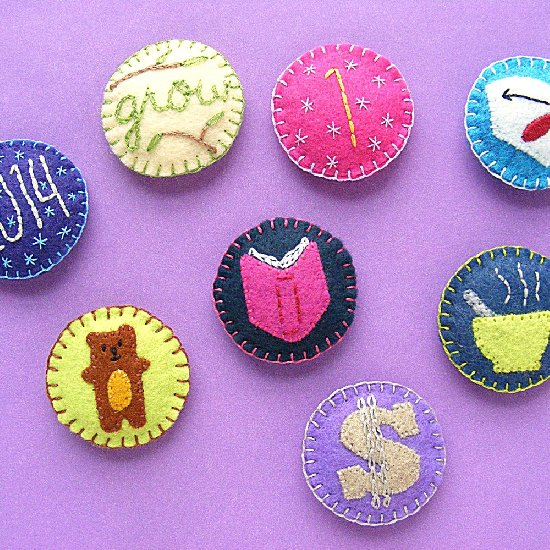badges gallery   craftgawker