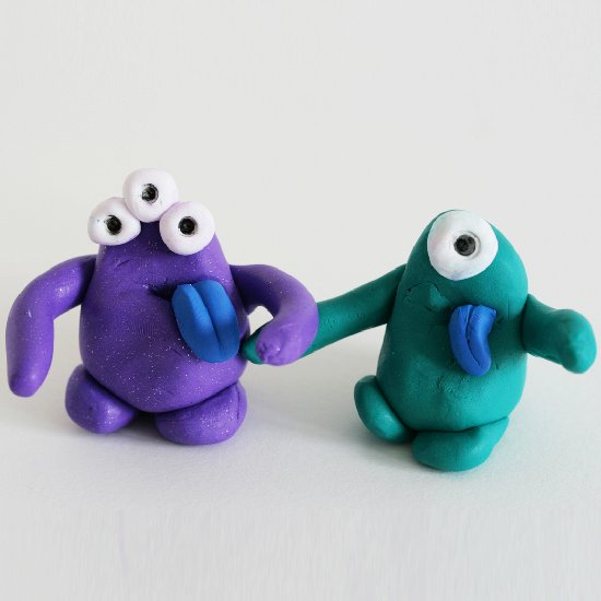 Clay Monster Huggers Craftgawker