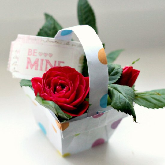 Origami flower gift box. Easy and Awesome. Origami box. Ideas for ... | 550x550