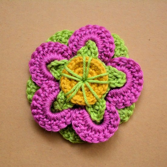 Crochet Flower Gallery Craftgawker Page 3