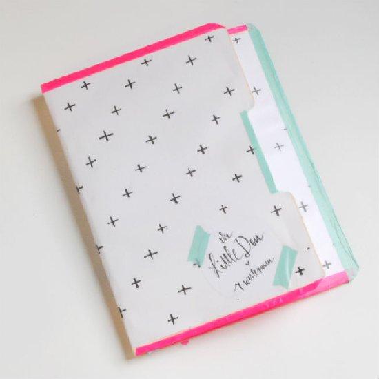diy: Poketo Inspired Notebook - Little den