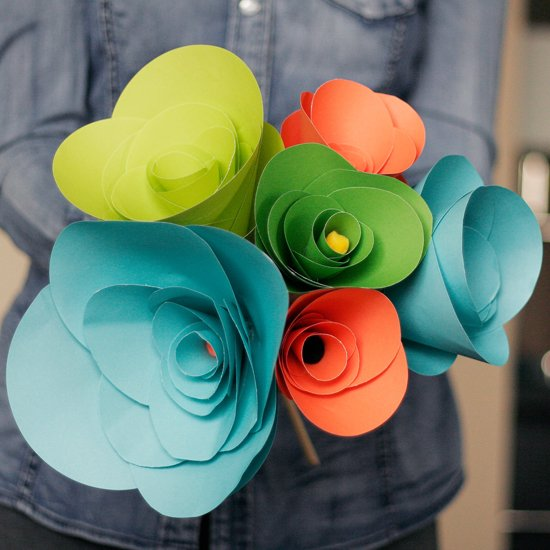 Diy paper flowers gallery craftgawker diy how to create paper flowers mightylinksfo