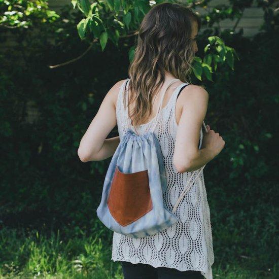 Drawstring Backpack Diy Craftgawker