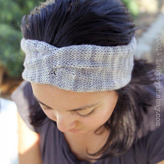 Twisted Headband Knitting Pattern Craftgawker