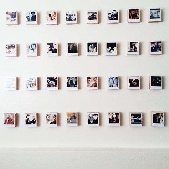 Polaroid Wall Gallery Craftgawker