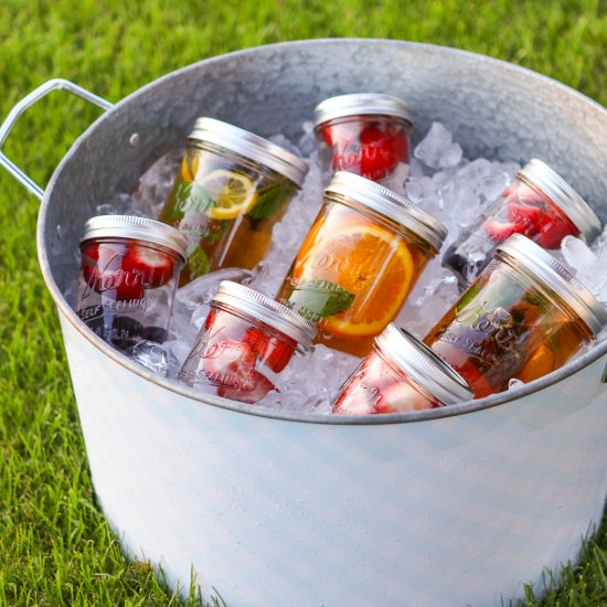 DIY Mason Jar Sun Tea