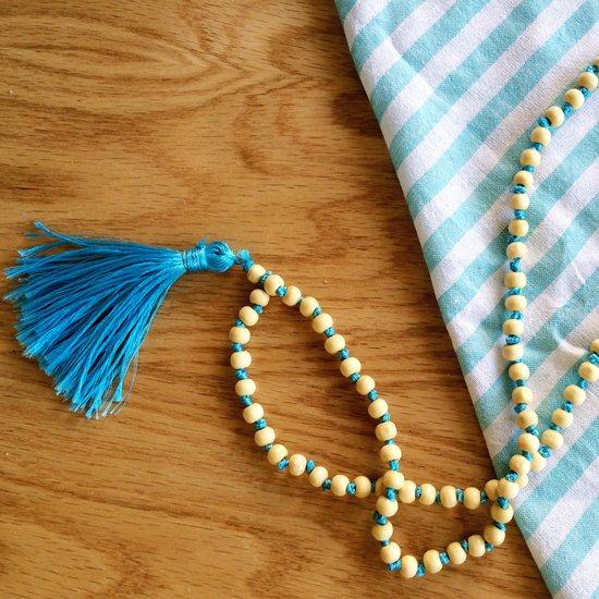 Beaded Tassel Necklace Diy Craftgawker