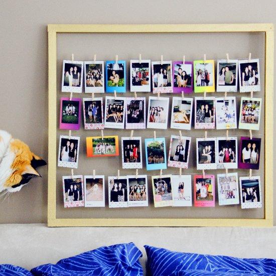 polaroid frame for polaroid lovers | craftgawker