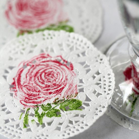 How to make flowers out of paper doilies flowers healthy rubber sted rose doily coasters search results for paper rose craftgawker page 6 diy paper flowers mightylinksfo