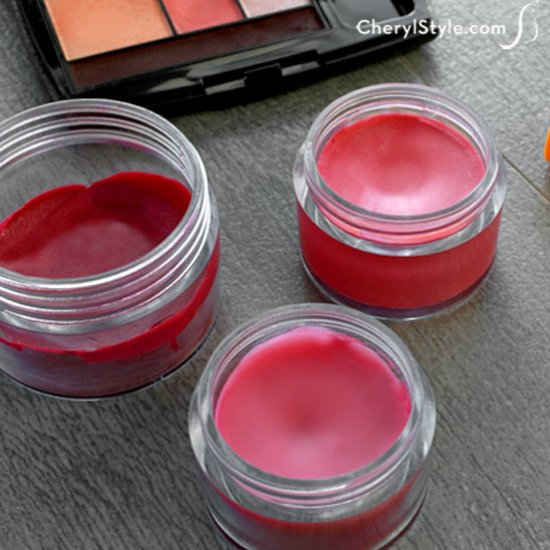 DIY lip stain - Everyday Dishes