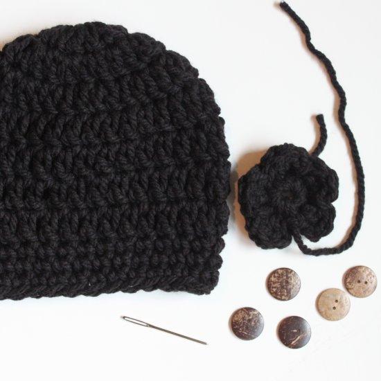 Black Chunky Crochet Hat Pattern Craftgawker