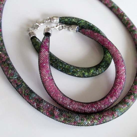 Swarovski Bracelet Necklace Diy