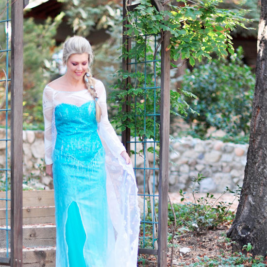 ... DIY Elsa Snow Queen Costume  sc 1 st  Craftgawker & halloween costume ideas gallery   craftgawker