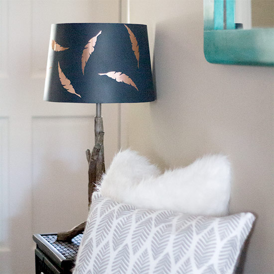 Lamp shade gallery craftgawker how to easily update a lamp shade mozeypictures Choice Image