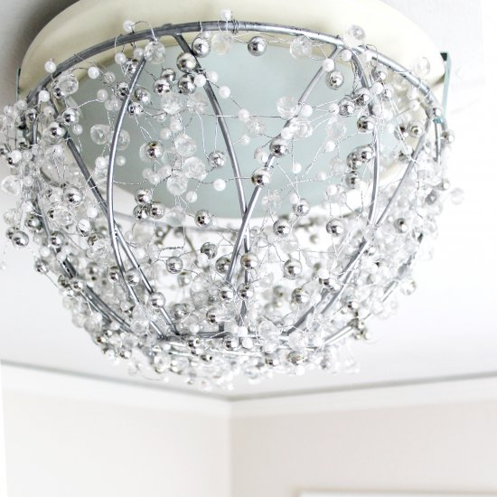 How To Make A Chandelier In An Hour