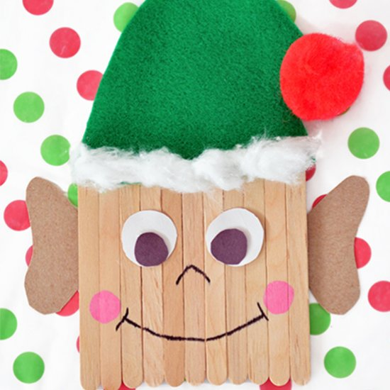 Popsicle Stick Elf Kids Craft Craftgawker