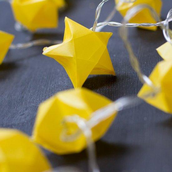 Cut + fold paper stars | MINI ECO | 550x550