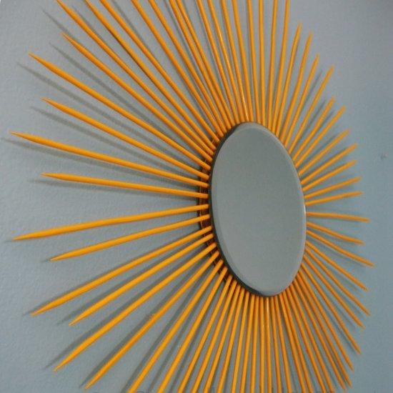 Diy Starburst Mirror Craftgawker