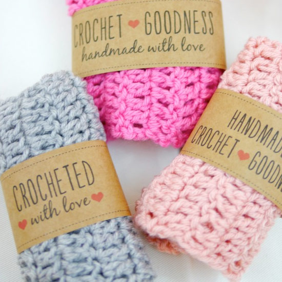 Free Crochet Gift Label Printables