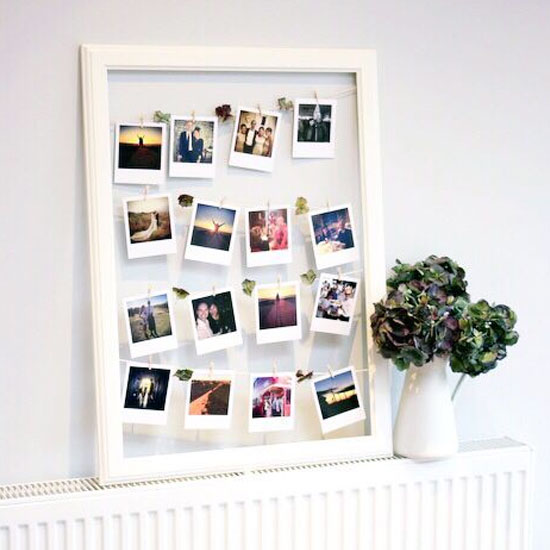Resultado de imagem para polaroid frame diy