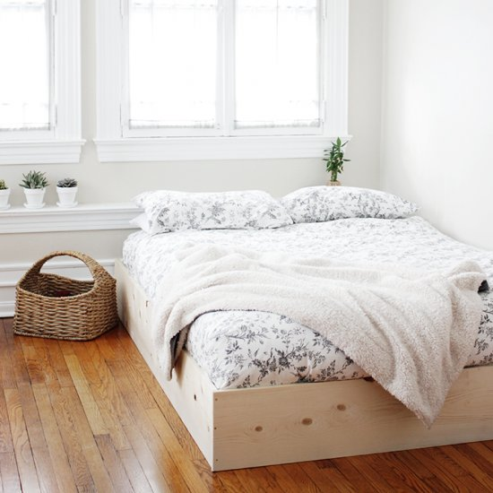 Good ... Simple Bed Frame