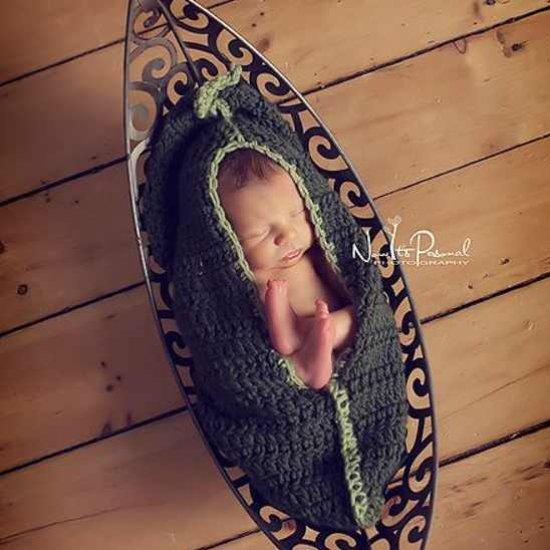 Pea Pod Cocoon Crochet Pattern Craftgawker