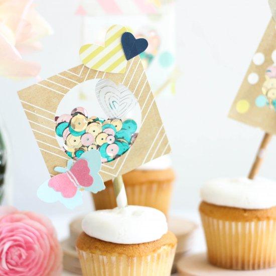 cupcake topper gallery craftgawker