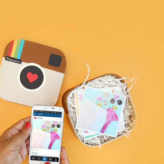 Diy Instagram In A Box Craftgawker