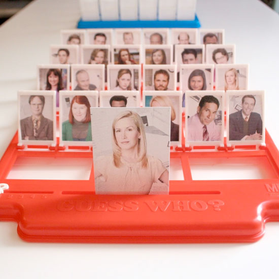 DIY Guess Who? Game Templates