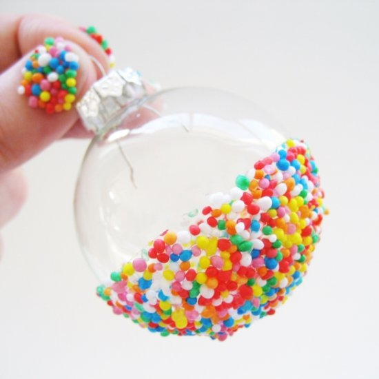 DIY – Sprinkles Ornaments