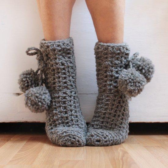 ... How to make simple crochet socks - How To Make Simple Crochet Socks Craftgawker