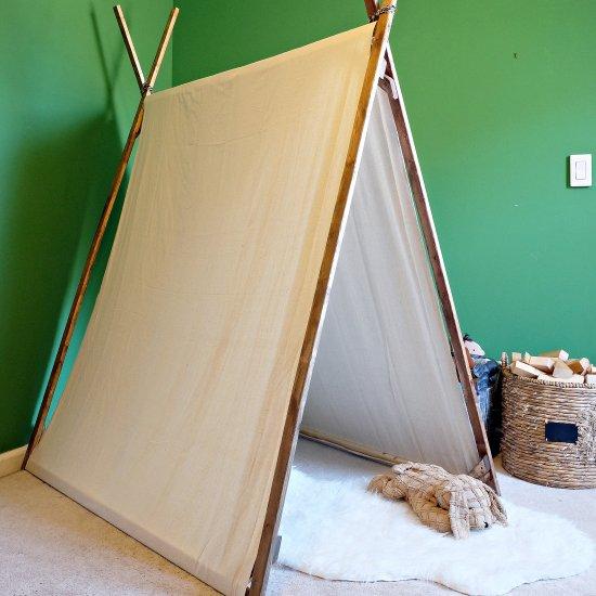 ... DIY Canvas Play Tent & tent gallery | craftgawker