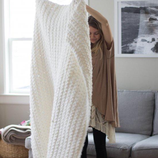 Super Chunky Simple Blanket