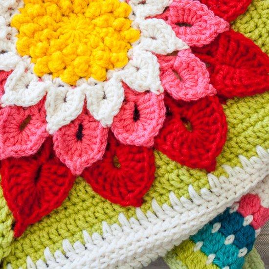 Crocodile Flower Afghan Craftgawker