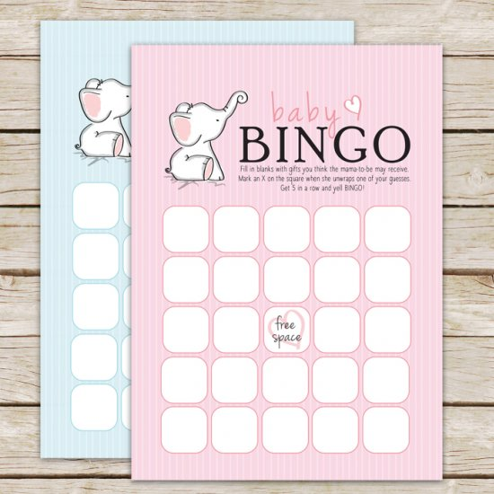 Printable baby shower bingo craftgawker printable baby shower bingo solutioingenieria Gallery